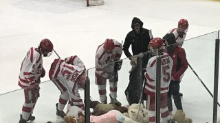 Regis Jesuit hockey - teddy bears on ice pic.jpg