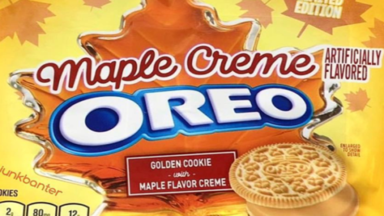 Maple Creme Oreos Are Coming To Stores This Fall