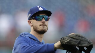 Cody Bellinger NLDS Dodgers Nationals Baseball