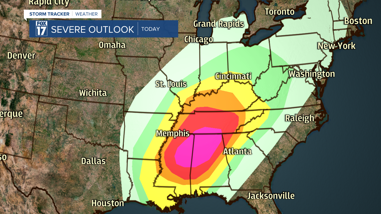 Day 1 Severe Weather Outlook