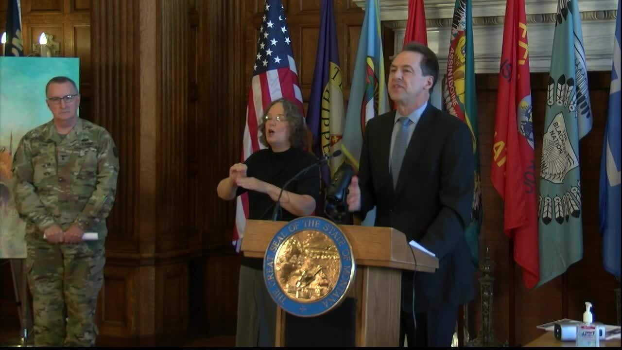 Gov. Bullock issues stay at home directive for Montana