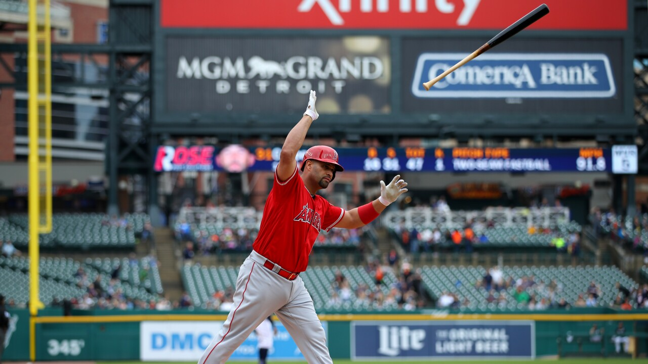 Albert_Pujols_Los Angeles Angels of Anaheim v Detroit Tigers
