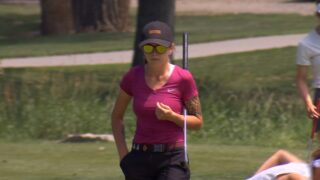 Rocky Mountain College star Eryn Ellis leads Women's State Am after Day 1