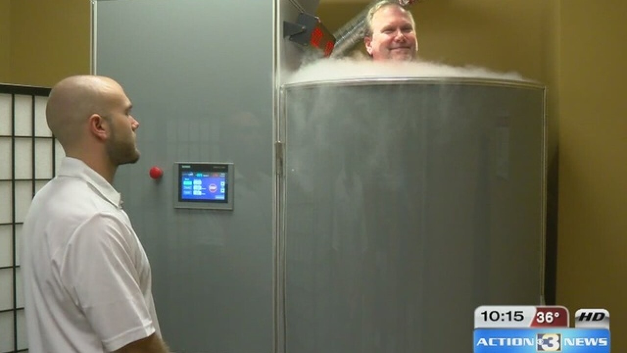 Cryotherapy: Negative, Positive Results?