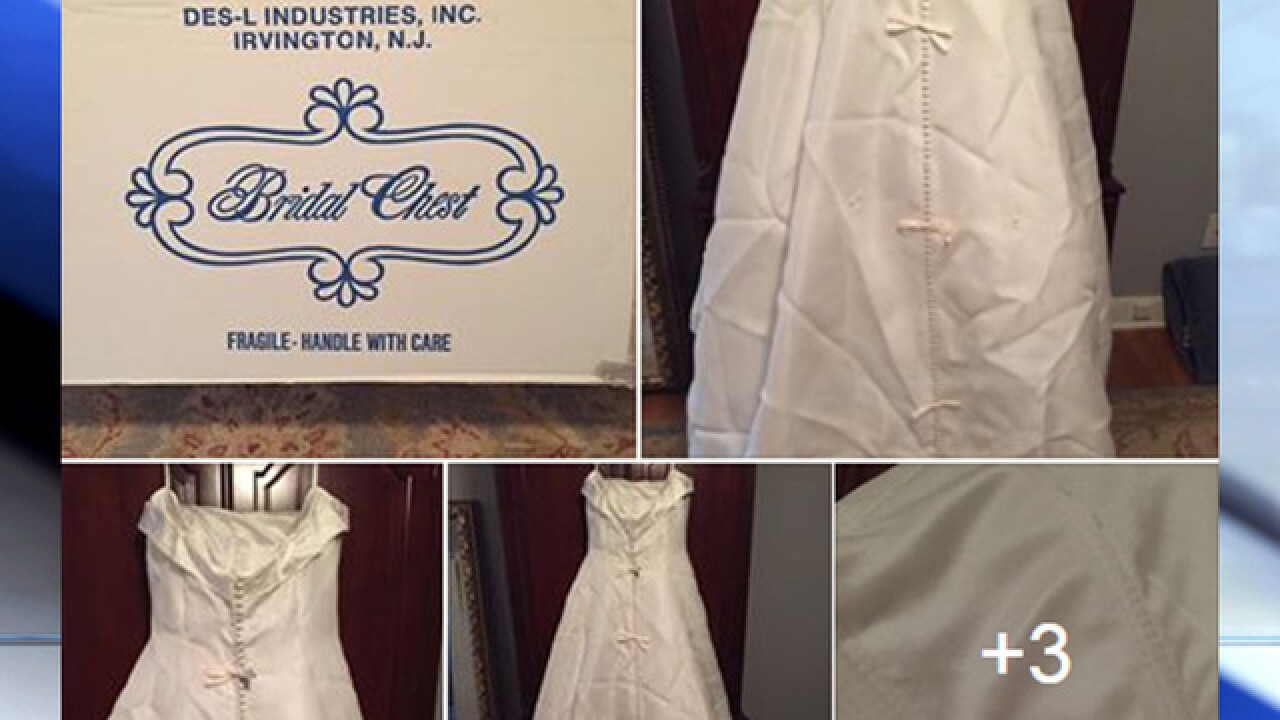 Help bride solve wedding dress mystery