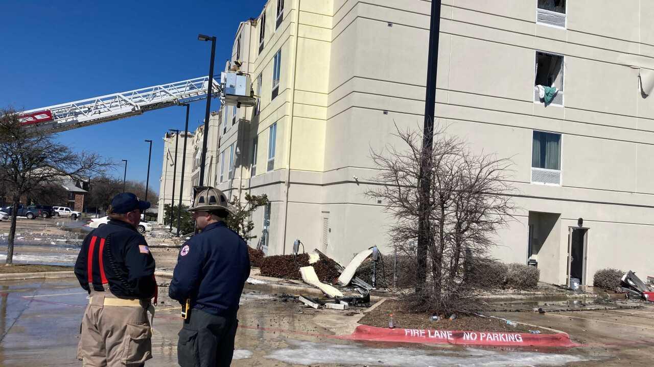 Hilton Garden Inn fire
