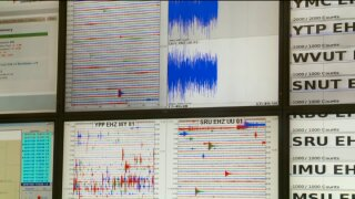 Pair of aftershocks hit Thursday morning.