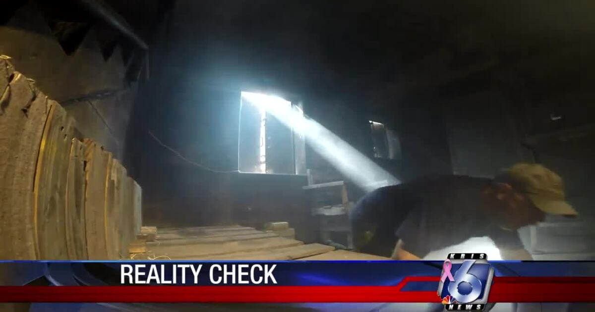 City firefighters demonstrate smoke-filled room escape