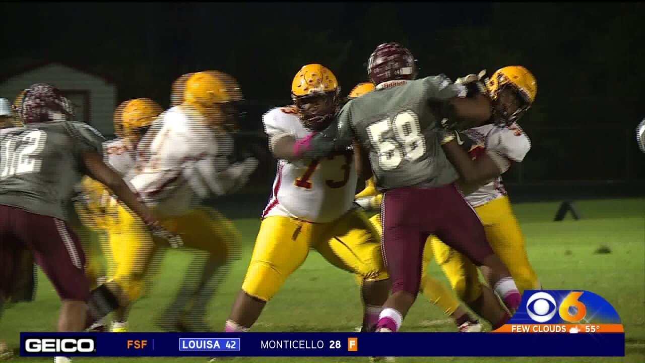 Thomas Dale holds off Petersburg28-24