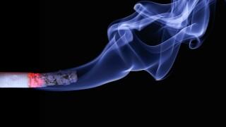 Smoking cigarettes cigarette