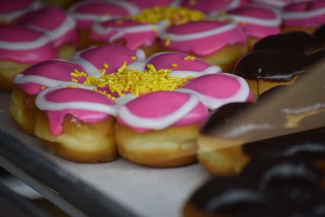 PHOTOS: Carl's Donuts reopens retail donut shop