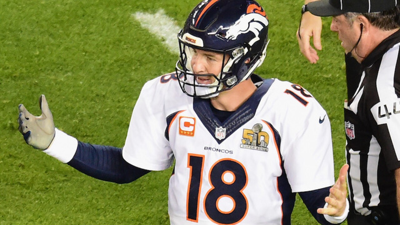 Former NFL referee has unusual Peyton Manning story