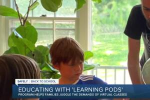 Educating with 'learning pods""