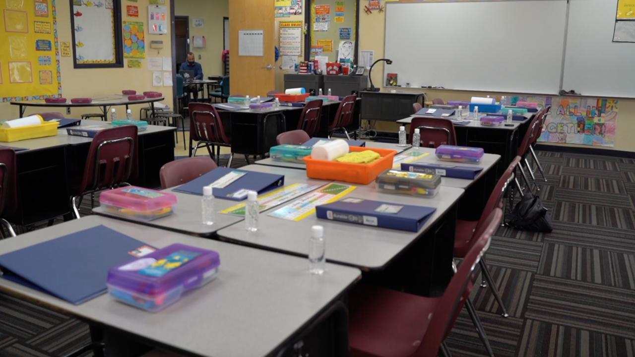 Mesquite Elementary 5th Grade Classroom