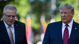 President Trump Welcomes Australian Prime Minister Scott Morrison To Washington On State Visit