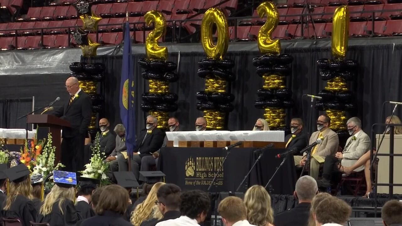 2021 Billings graduation