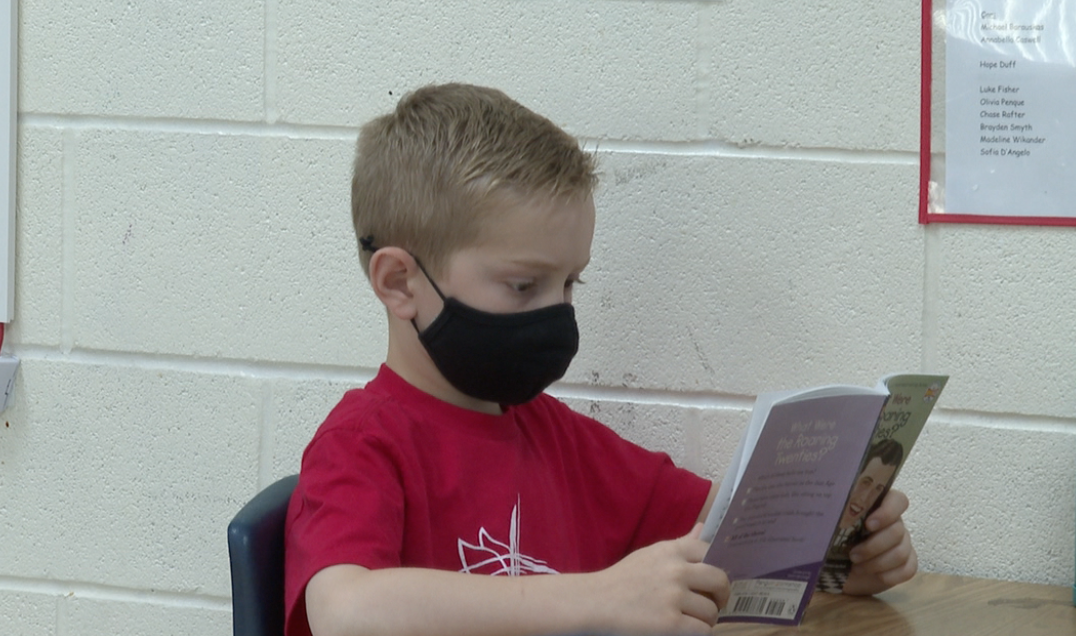 Third graders at Holy Ghost Lutheran say their love of reading grew this year