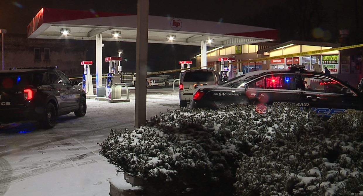 East 73rd and Lorain gas station shooting.png