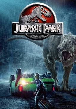Jurassic Park movie poster from Universal Pictures