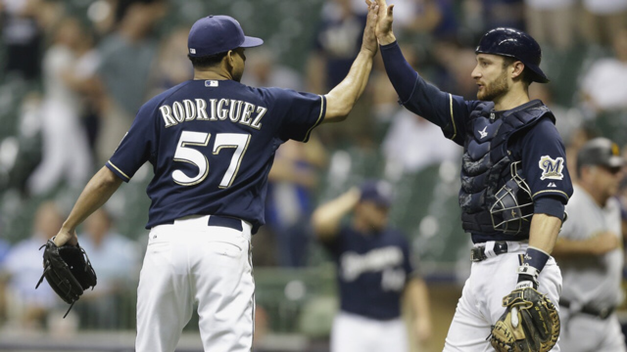 Former Brewers closer Francisco Rodriguez signs with Independent League's Long Island Ducks