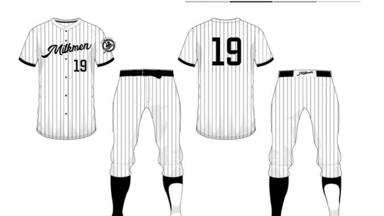 promo code fdd2f 3fd83 Milwaukee Milkmen partner with Routine Baseball and Adidas for uniforms