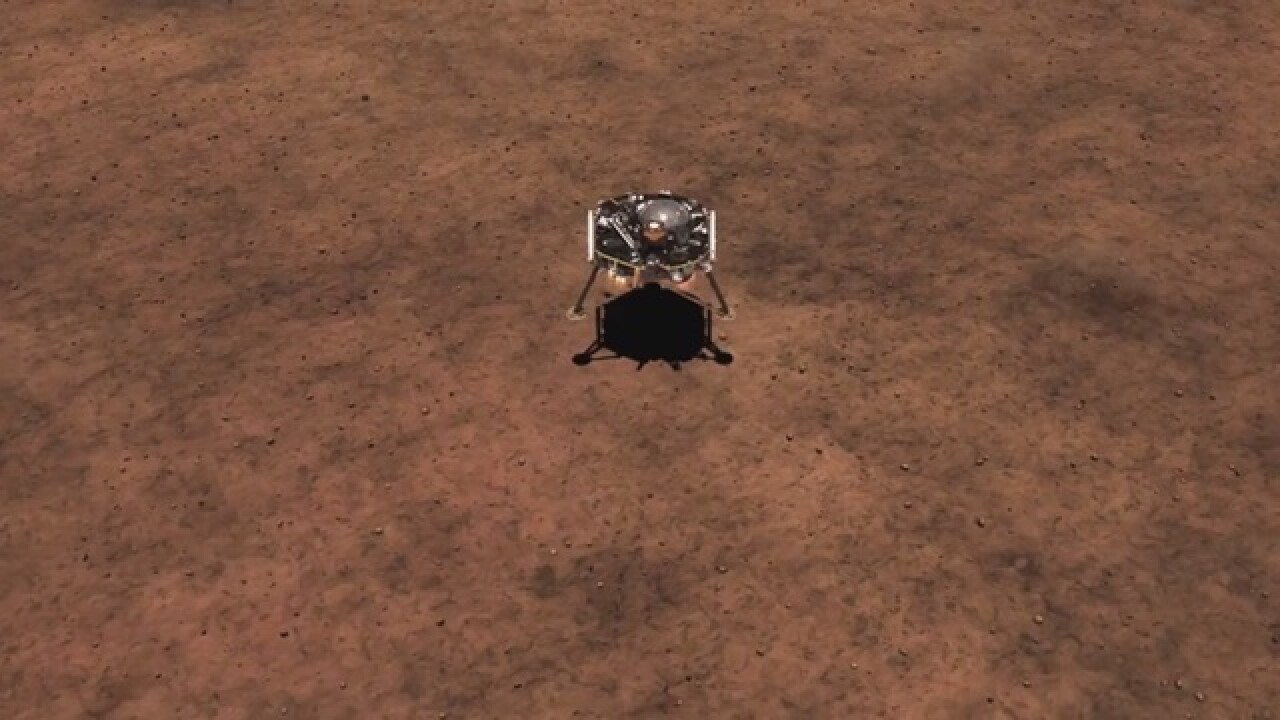 How UA helped another Mars landing happen