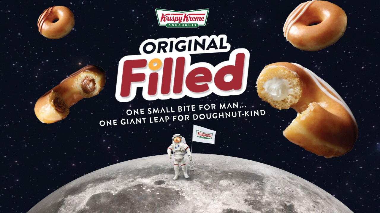 Krispy Kreme has a new doughnut to celebrate the 50th anniversary of Apollo 11
