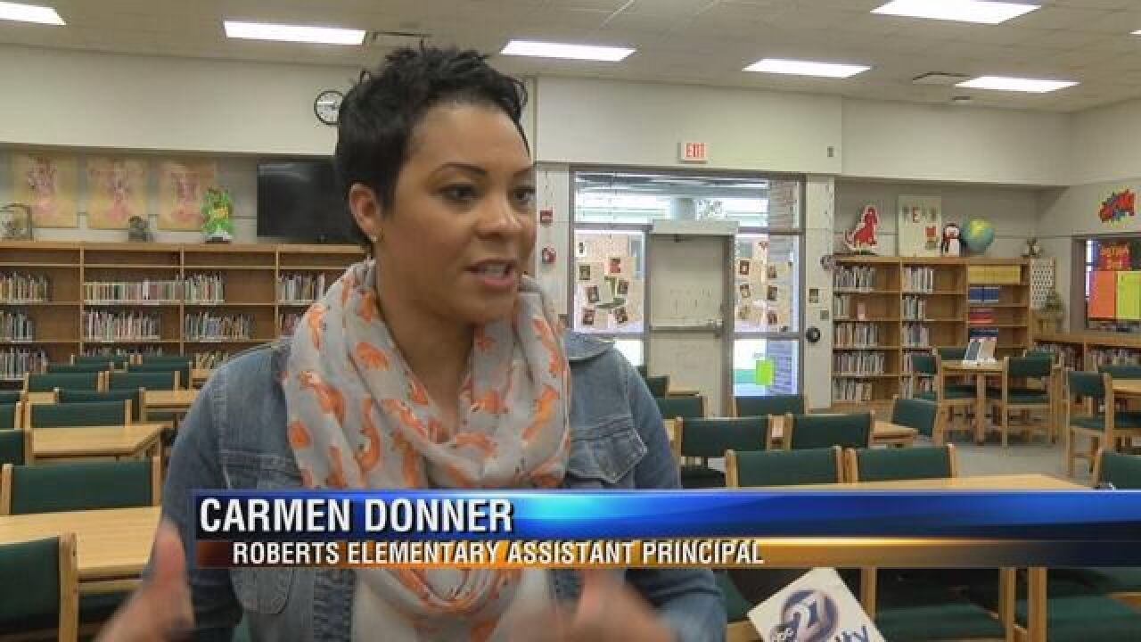 Assistant Principal at Roberts Elementary Awarded