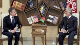 Abdullah Abdullah, Antony Blinken