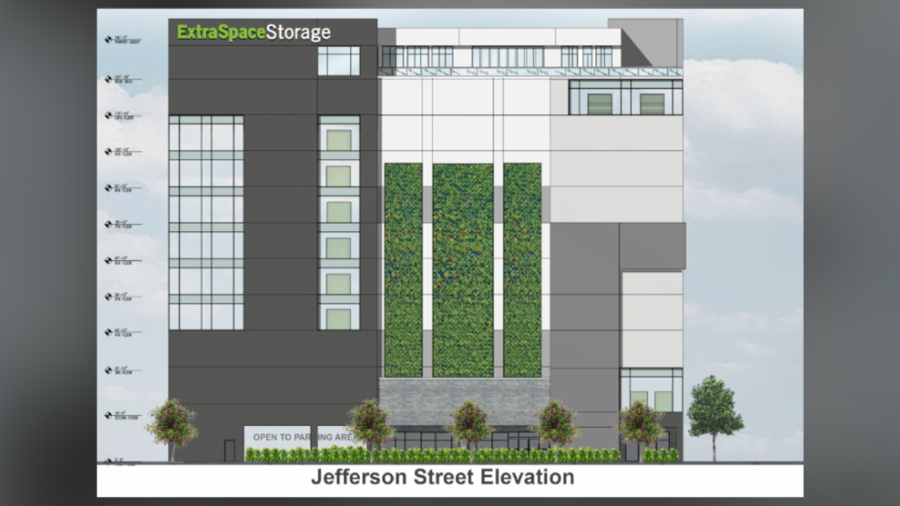 proposed downtown Tampa storage facility