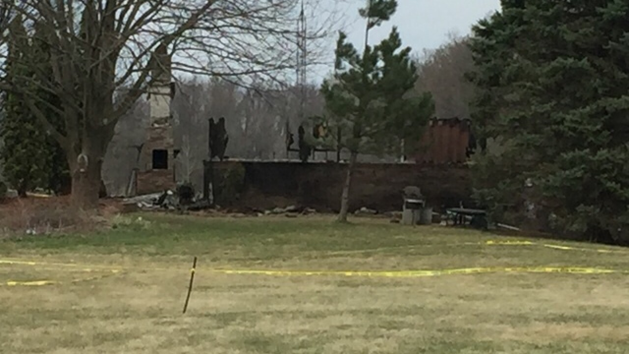 Officials: Town of Clayton fire intentionally set, two found dead in murder/suicide