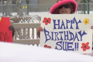 Billings dance group celebrates birthday, social distance style