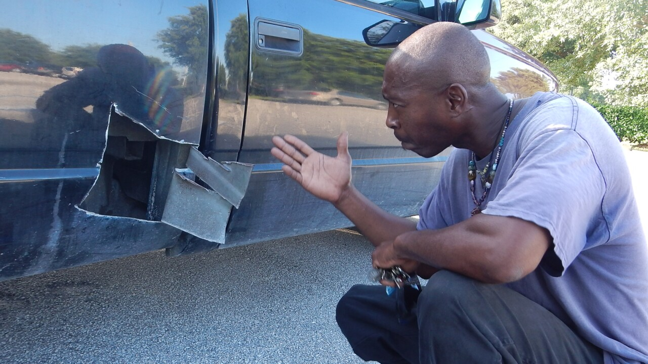 Florida man cuts open truck to save kitten