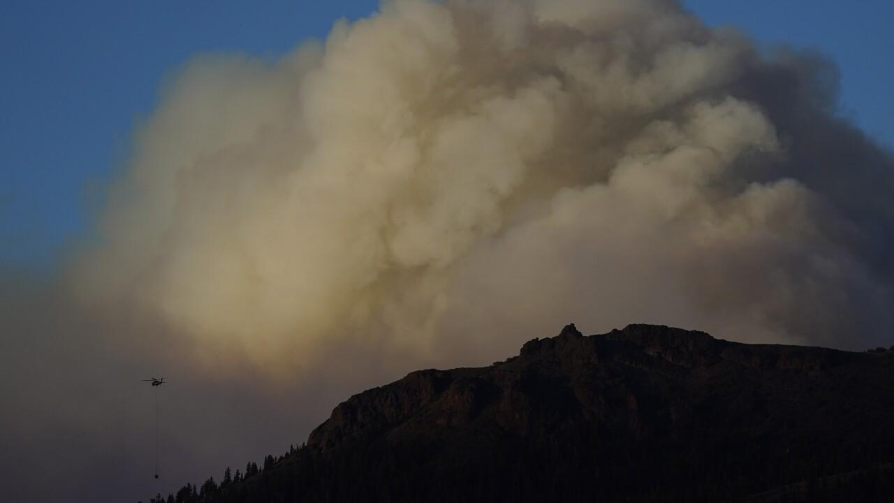 APTOPIX Western Wildfires California