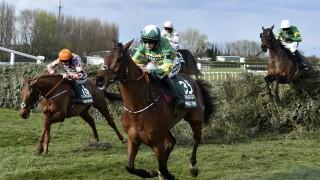 Britain Grand National Horse Racing
