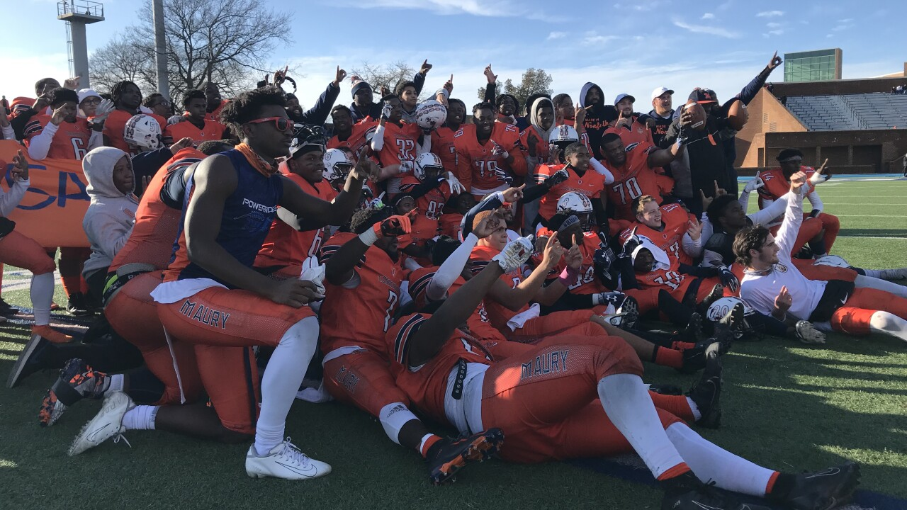 Maury football wins first state title in 80 years