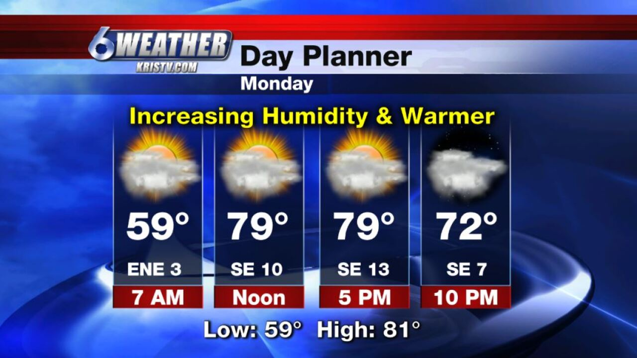 6WEATHER Day Planner for Monday 11-4-19.JPG