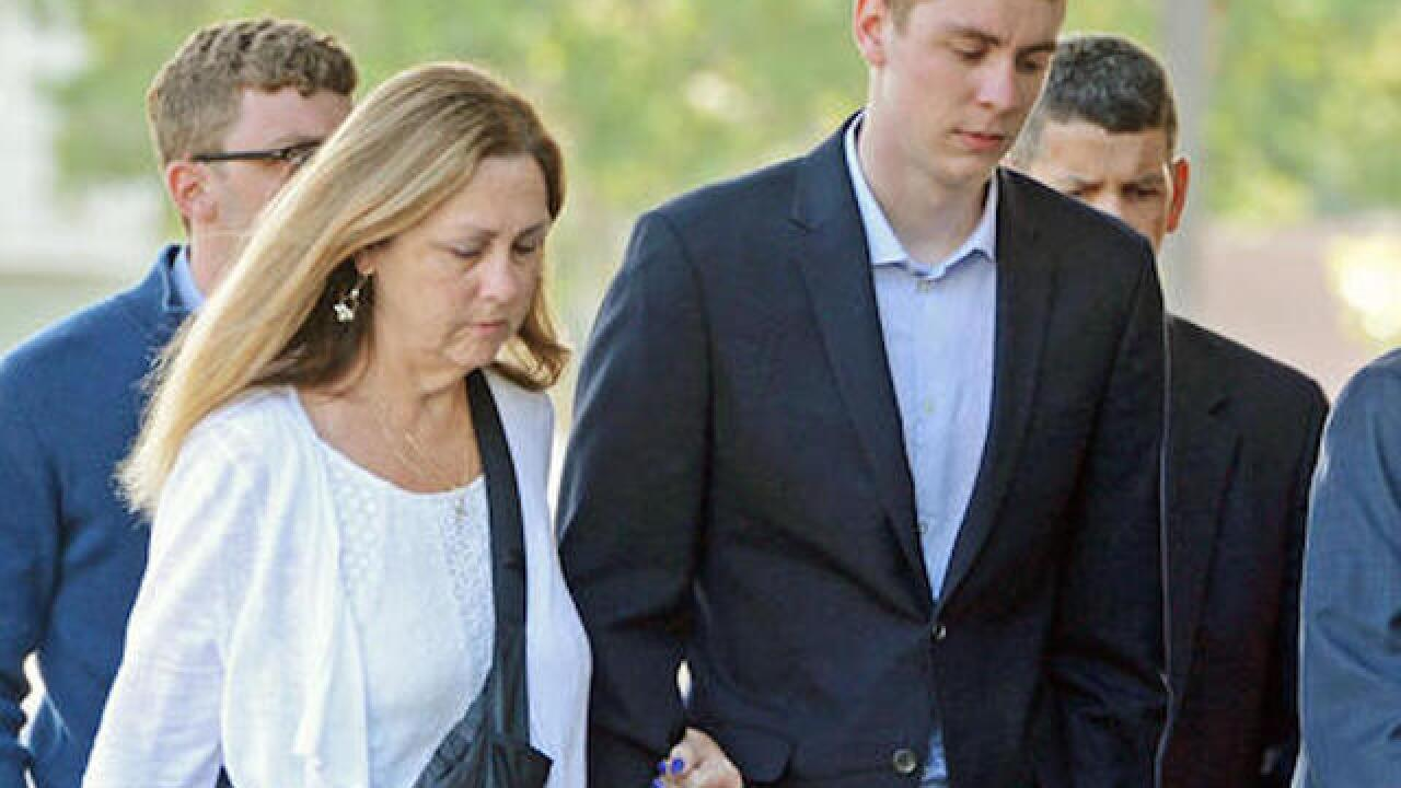 Judge deems swimmer's rape sentence too severe