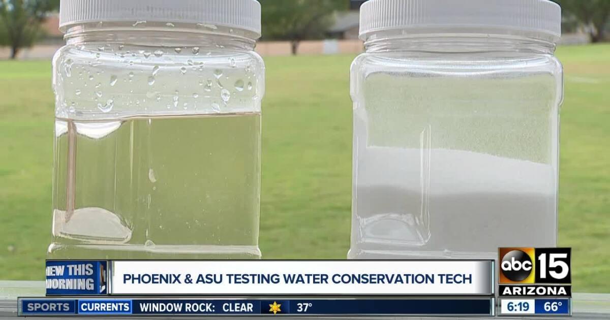 ASU, Phoenix testing water conservation technology with hydrogels - ABC15 Arizona