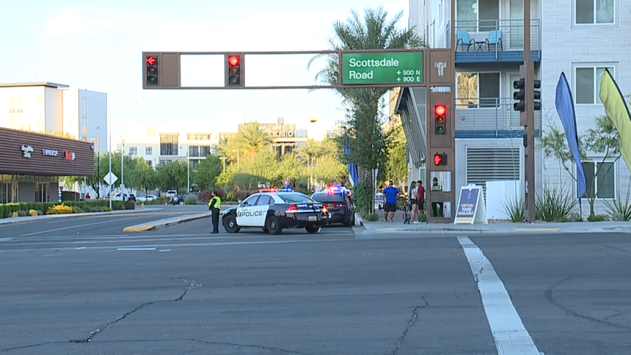 PD: Man shot after he stopped to help car crash victims in Tempe