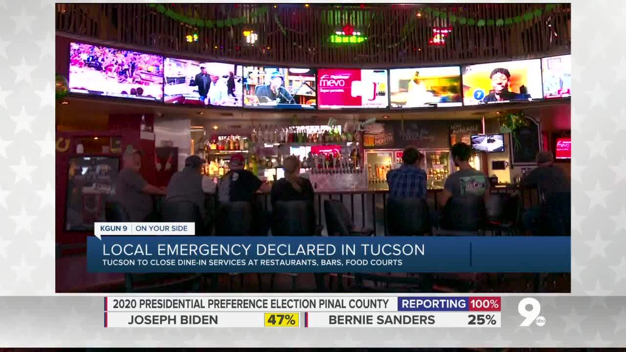 How Tucson state of emergency is affecting businesses