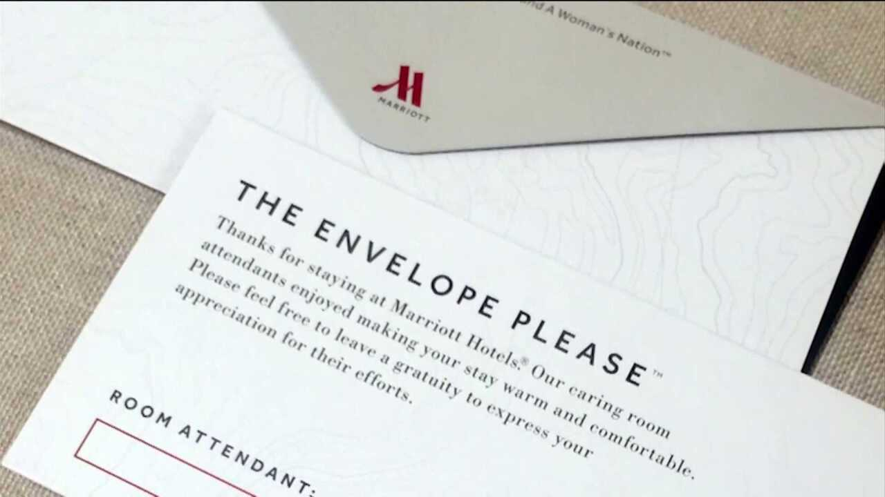 Marriott urges hotel guests to tip housekeepers — every day