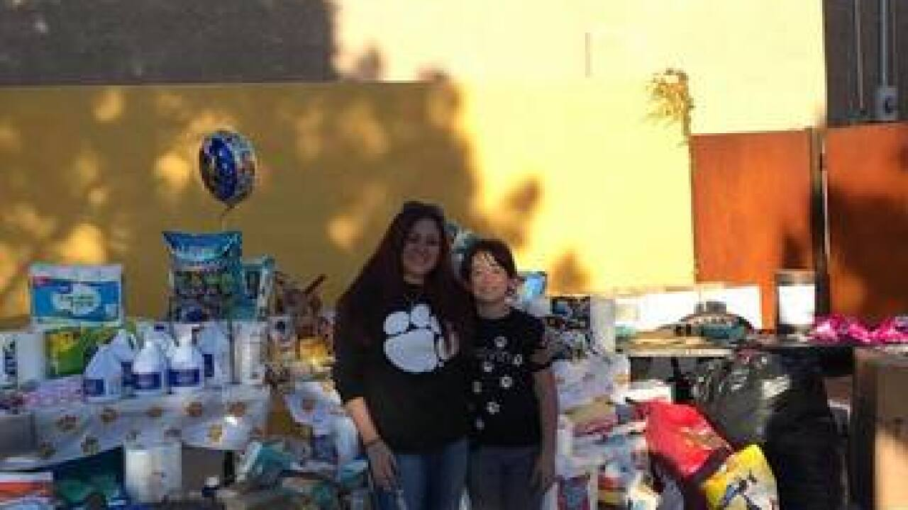 Boulder City boy asks for donations for birthday