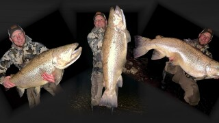 Robbie Dockter and his record-breaking brown trout