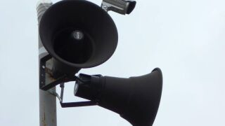 Outdoor siren accidentally goes off in Waco