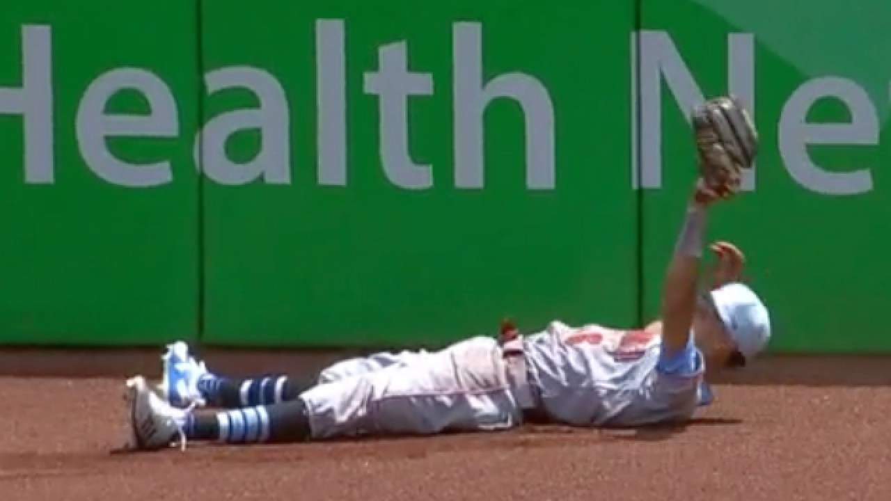 Billy Hamilton makes most improbable catch of the season