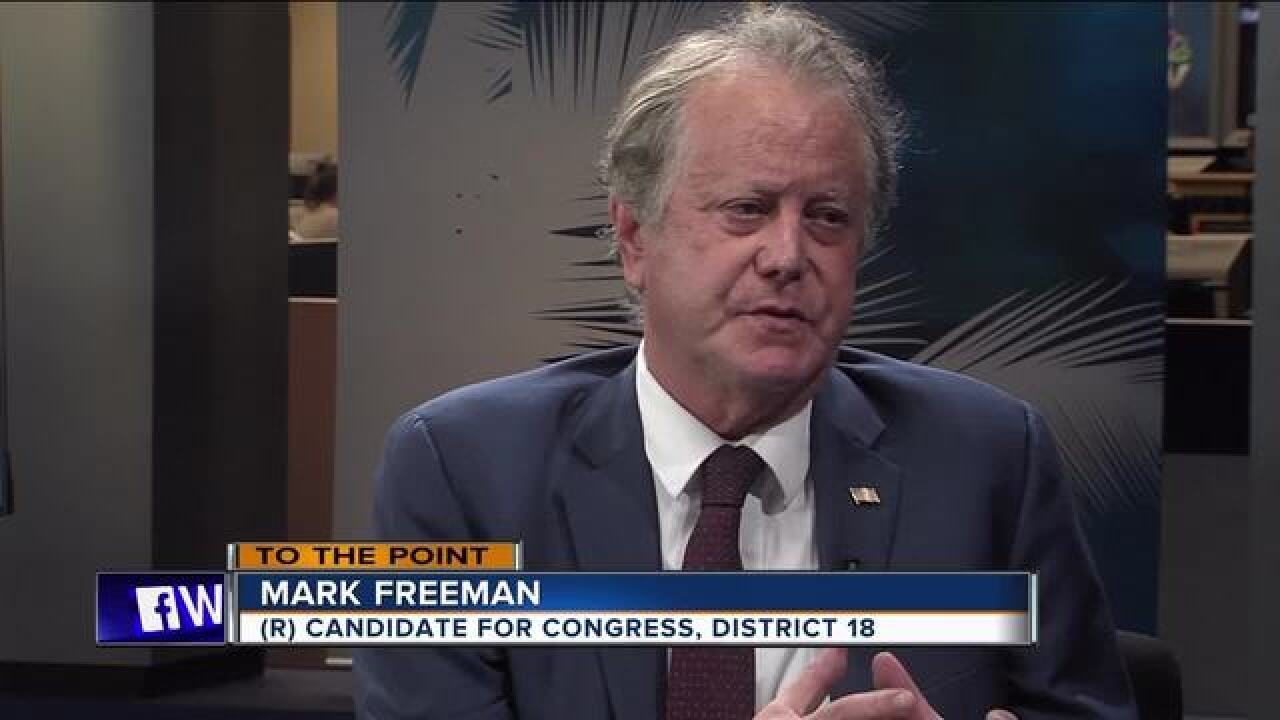 To The Point 6/3/18: Candidate Mark Freeman