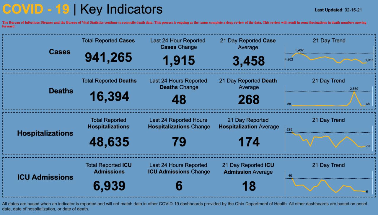 2/15/21 CV Key Indicators