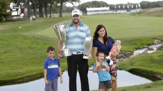 Marc Leishman, Audrey Leishman & family