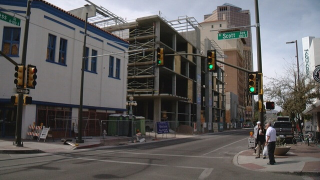 Diversity building in downtown construction